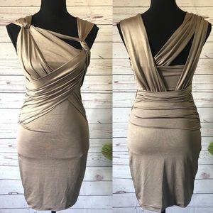 BEBE • like new sexy evening bodycon dress